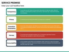 Service Promise PPT slide 22