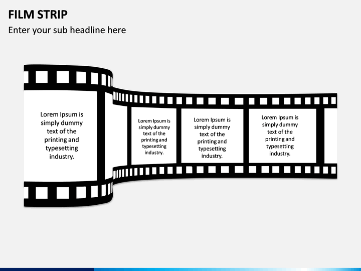 Film Strip PPT Slide 1