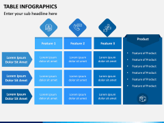 Table Infographics PPT Slide 4