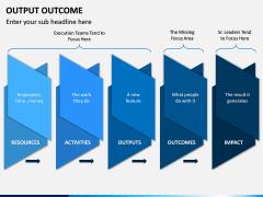 Output Outcome PPT Slide 12