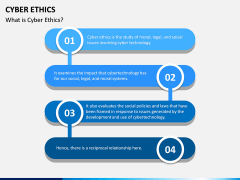 Cyber Ethics PPT Slide 1