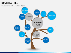 Business Tree PPT Slide 8