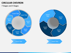 Circular Chevron PPT Slide 5