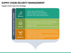 Supply Chain Security Management PPT Slide 15