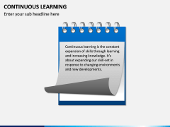 Continuous Learning PPT Slide 1