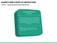 Gagne's Nine Events of Instruction PPT Slide 29