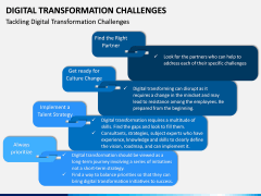 Digital Transformation Challenges PPT Slide 5