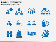 Business Person Icons PPT Slide 10