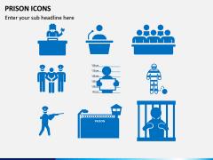 Prison Icons PPT Slide 1