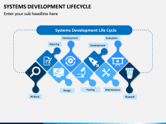 Systems Development Lifecycle PPT Slide 1