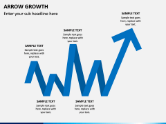 Arrow Growth PPT Slide 6