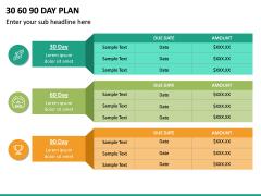 30 60 90 Day Plan PPT Slide 37