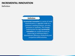 Incremental Innovation PPT Slide 1