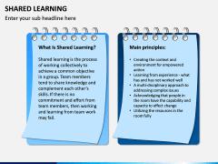 Shared Learning PPT Slide 1