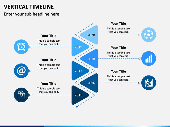Vertical Timeline Powerpoint Template Sketchbubble