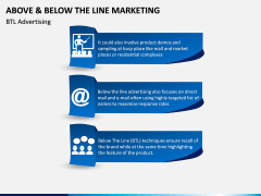 Above and Below the Line Marketing PPT Slide 11