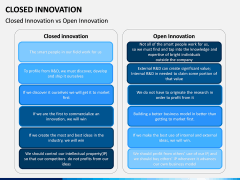 Closed Innovation PPT slide 11