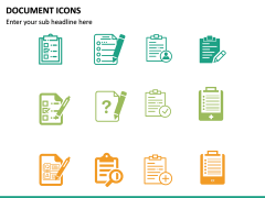 Document Icons PPT Slide 11