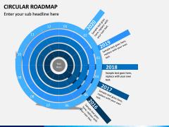 Circular Roadmap PPT Slide 3