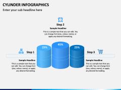 Cylinder Infographics PPT Slide 14