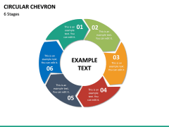 Circular Chevron PPT Slide 21