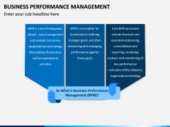 Business Performance Management PPT Slide 1