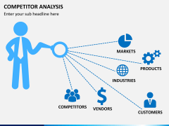 Competitor analysis PPT slide 1