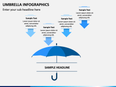 Umbrella Infographics PPT Slide 12