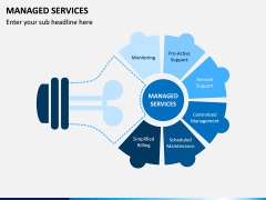 Managed Services PPT Slide 1