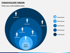 Stakeholder Onion PPT Slide 1