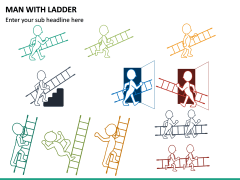 Man with Ladder PPT Slide 6
