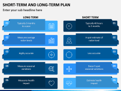Short Term and Long Term Plan PPT Slide 8