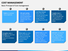 Cost Management PPT slide 18
