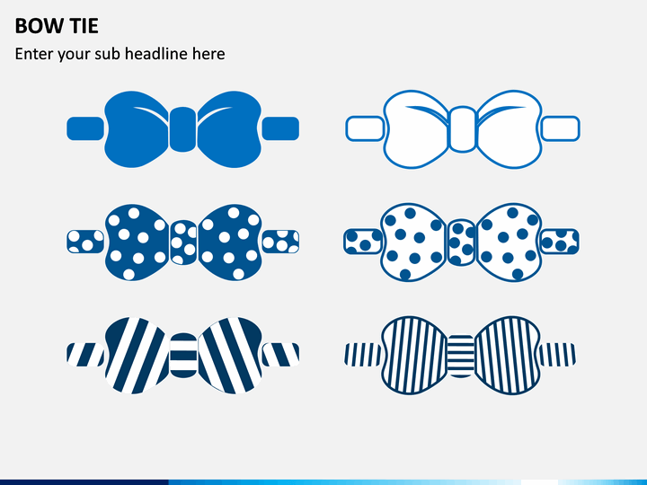 Bow Tie PPT Slide 1