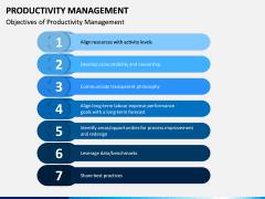 Productivity Management PPT Slide 2