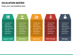 Escalation matrix PPT slide 20