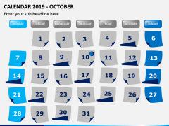 Calendar 2019 PPT Slide 10
