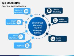 B2B Marketing Free PPT Slide 1