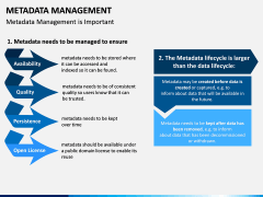 Metadata Management PPT slide 9