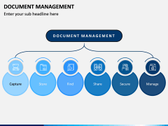 Document Management PPT Slide 1
