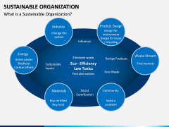 Sustainable Organization PPT Slide 1