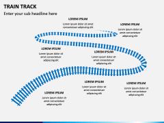 Train Track PPT Slide 3