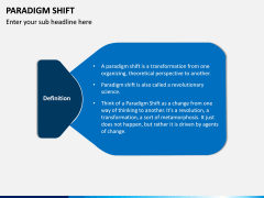 Paradigm Shift PPT Slide 1