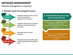 Metadata Management PPT slide 22