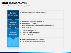 Benefits management PPT slide 4