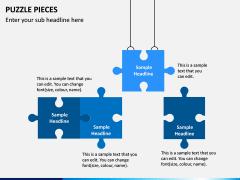 Puzzle pieces PPT slide 4