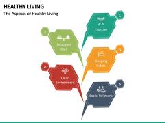 Healthy Living PPT Slide 17