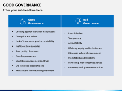 Good Governance PPT Slide 12