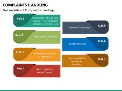 Complaints Handling PPT Slide 20