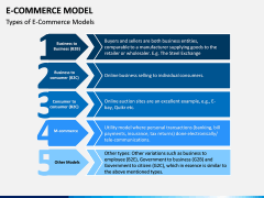 E-commerce Model PPT Slide 5